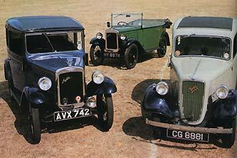 Автомобили Остин Севен 1922-1939 годов